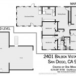 Main Level & Ground Level floor plan