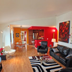 Spacious Living Room / Dining Combo with Open Floorplan
