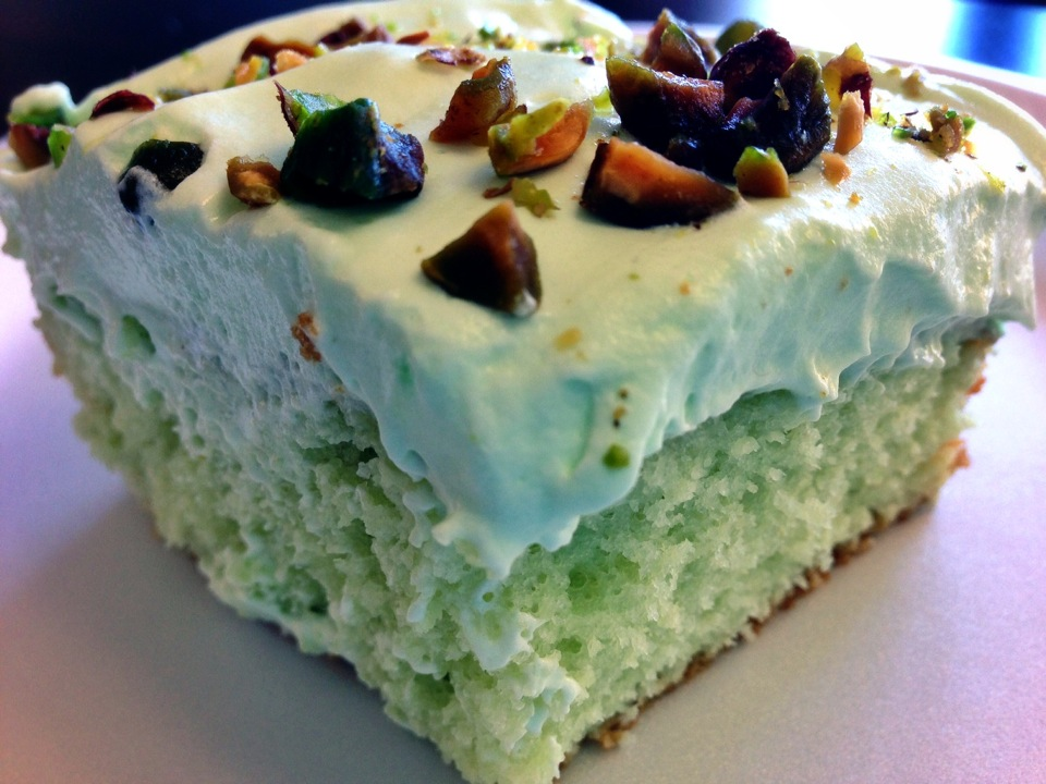 Pistachio Cake Recipe | One Mission Realty | San Diego Real Estate