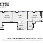 Floorplan created by One Mission Realty for visualization purposes only.