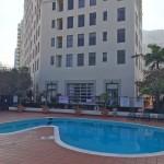 Common area swimming pool