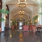 Beautiful lobby for the main entrance exudes charm.
