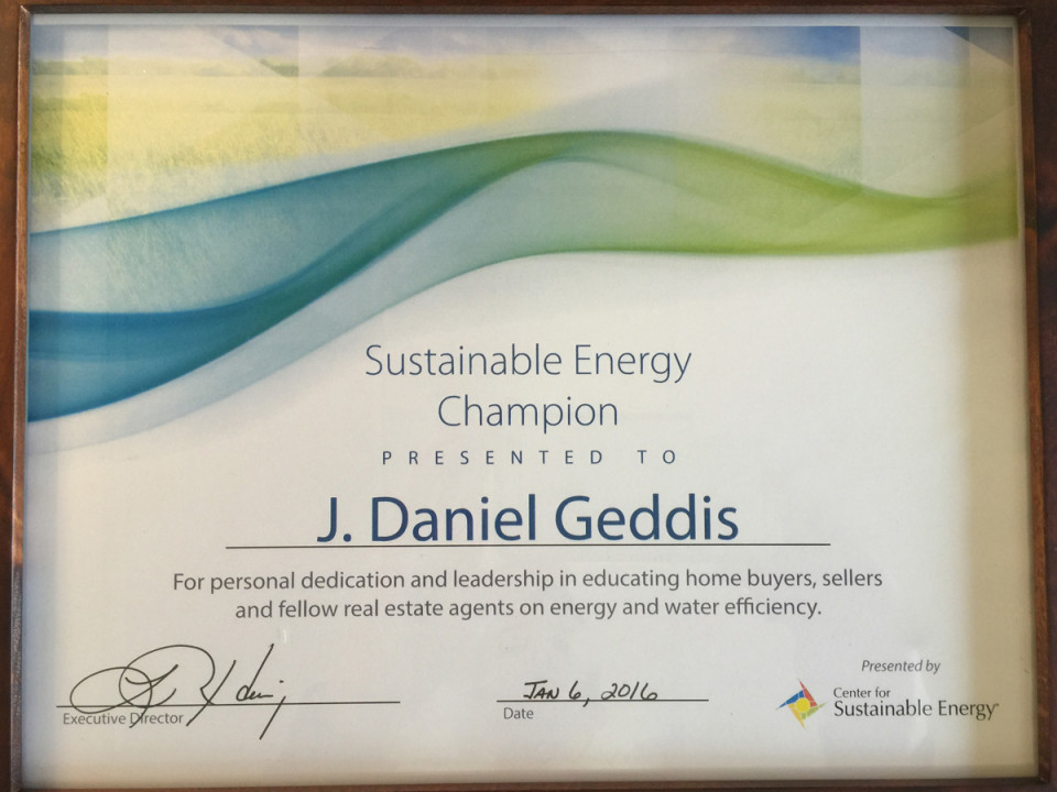 J-Daniel-Geddis-Sustainable-Energy-Champion-Award-Center-For-Sustainable-Energy