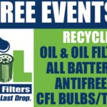 Free Used Oil & Oil Filter Recycling Event in Balboa Park | October 8, 2016