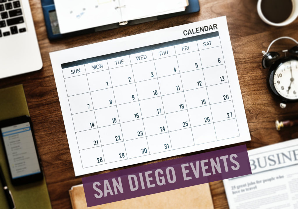 San Diego Calendar Of Events 2019 San Diego County Calendar of Events for April 2019   One Mission